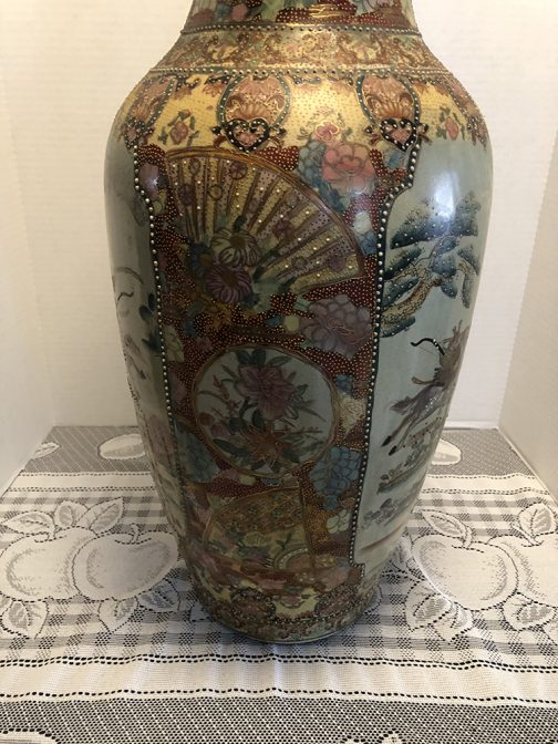 Antique Chinese Vase, Antique Chinese Vases, Chinese Vase, Old Made In China Vase