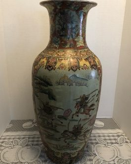 Old 24″ Tall Chinese Vase