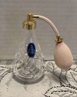 Vintage Royal Doulton Crystal Perfume Atomizer