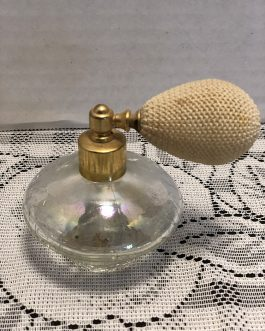 Vintage Clear Glass Perfume Atomizer