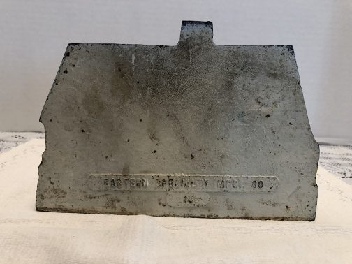 Antique Country Cottage Cast Iron Door Stop, Eastern Specialty Mfg. Co 14