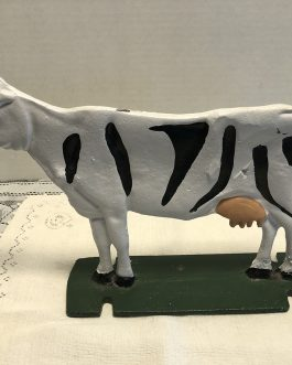 Cow Cast Iron Door Stop