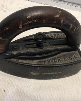 Group Of 2 Antique Sad Irons Including Enterprise Mfg. Co., Phila. U.S.A.