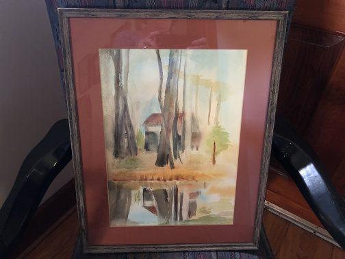 Artist Kenneth Pauli Watercolor