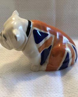 RARE Royal Doulton Union Jack The British Bulldog, RN 645,658