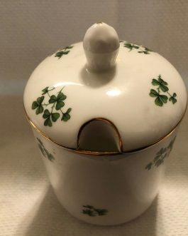 Royal Grafton Shamrock Jam/Jelly with Lid