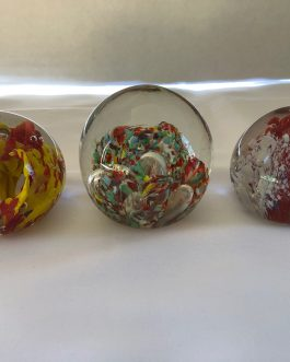 Group Of 3 Paperweights – Group 1