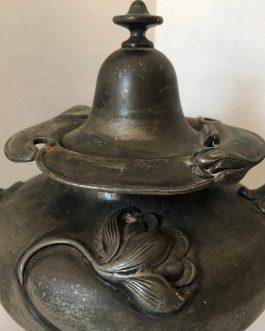 Antique Teapot Victor Silver Co. 2671 Pat. June 14, 1904