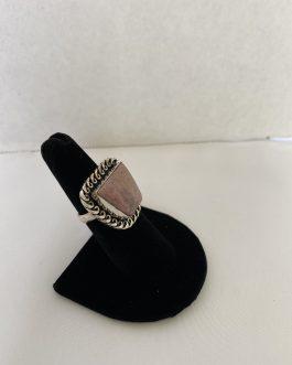 Super Southwestern Inspired Sterling Ring, Size 7½