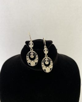 Beautifully Designed Sterling Silver Earrings