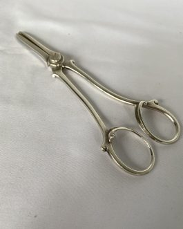 Vintage Sterling Silver Grape Shears – 7 1/4″ Long – Approximately 80 Grams